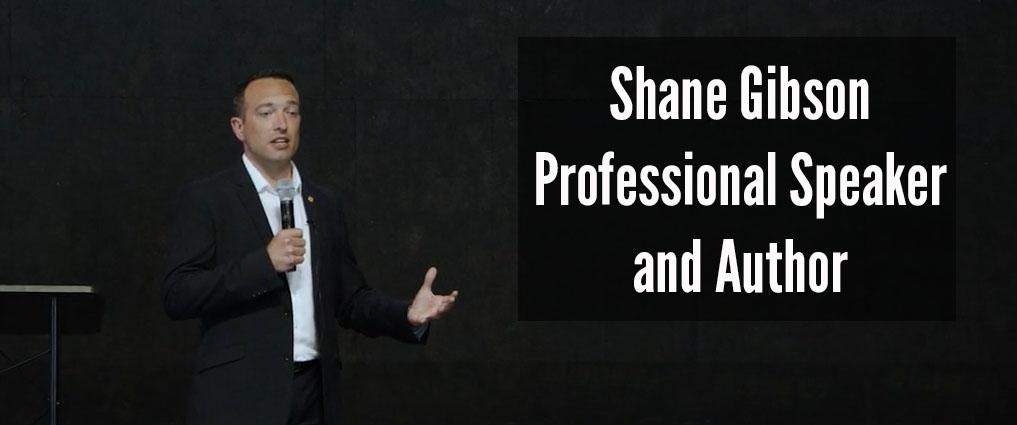 Shane Gibson Keynote Sales Speaker Social Selling Sales Trainer