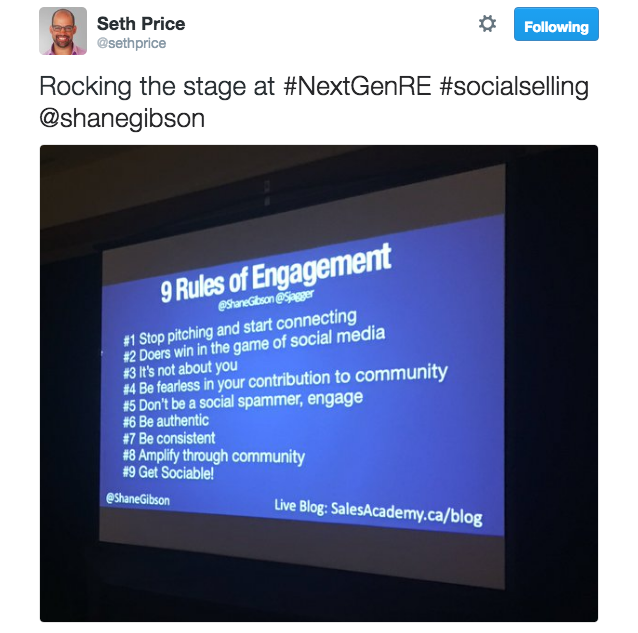 NextGenRE Rules of Engagement Social Selling