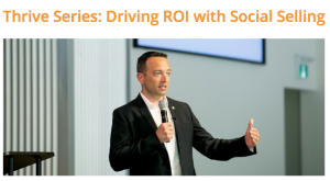 social selling speaker and seminars Vancouver Board of Trade Shane Gibson