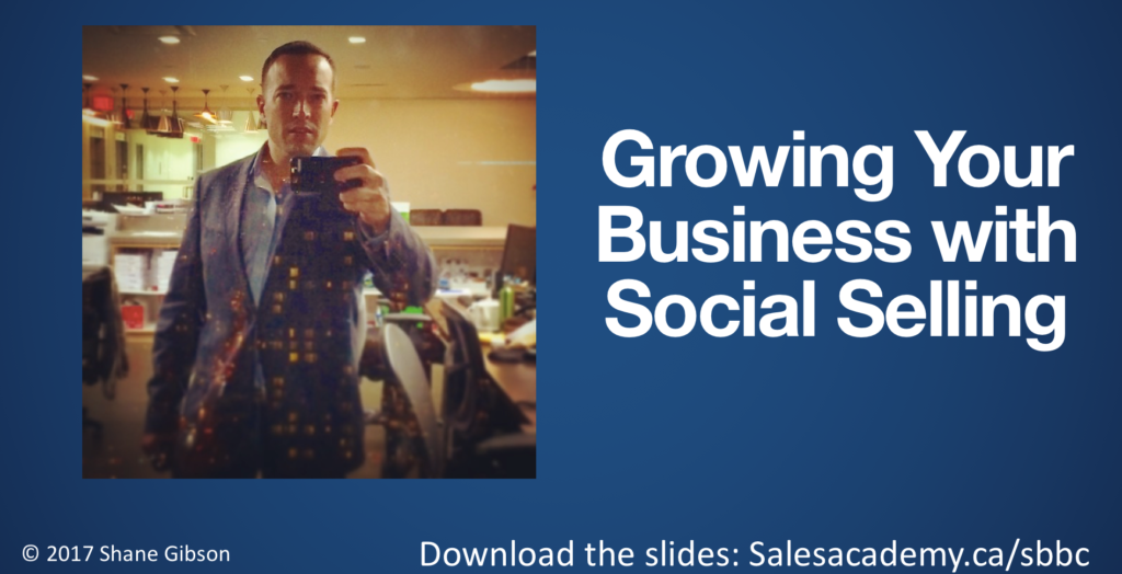 Social Selling Training Vancouver Canada